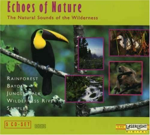 Echoes Of Nature Natural Sounds Of The Wilderne Rainforest Bayou Jungle Talk 5 CD Set