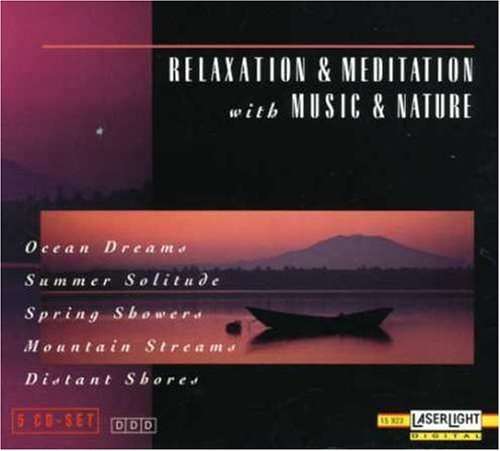 Relaxation & Meditation With M Ocean Dreams Spring Showers 5 CD 5 Cass Set Relaxation & Meditation With M