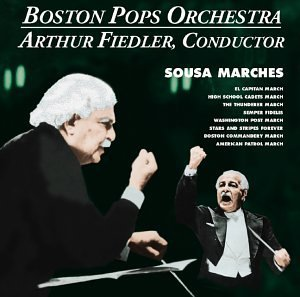 Fiedler Arthur Conducts Sousa Marches Remastered Fiedler Boston Pops Orch