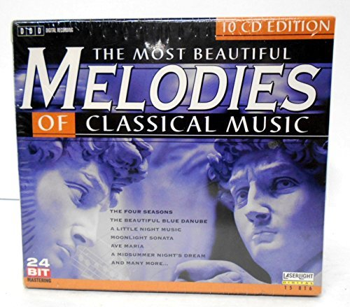 Most Beautiful Melodies Of Cla Most Beautiful Melodies Of Cla Vivaldi Bach Handel Chopin Mozart Dvorak Tchaikovsky