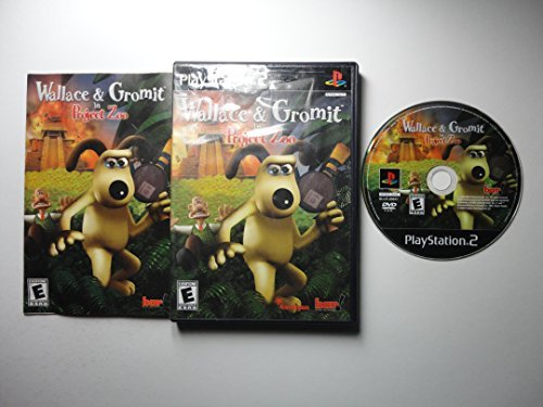 Ps2 Wallace & Gromit In Project Zoo