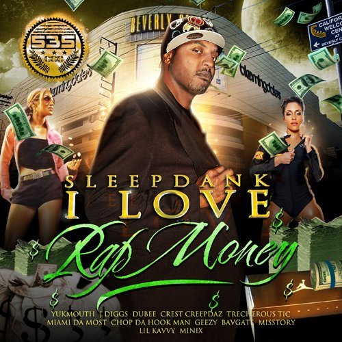 Sleepdank I Love Rap Money Explicit Version 2 CD