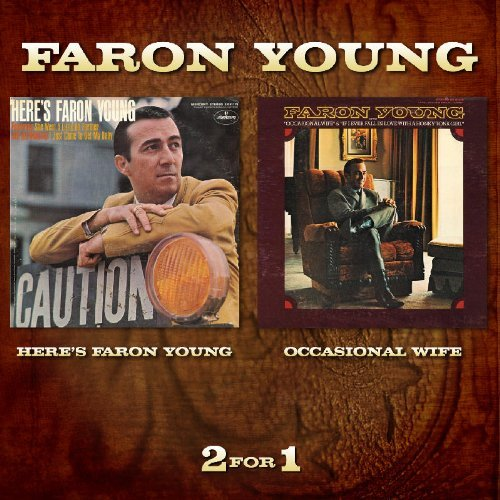 Faron Young Heres Faron Young Occasional W Import 2 Lp On 1 CD