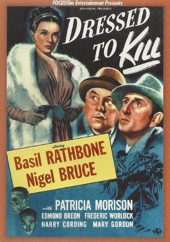 Dressed To Kill (1946) Rathbone Bruce Morison Bw Nr