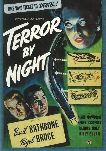 Terror By Night Rathbone Bruce Mowbray Godfrey Bw Nr
