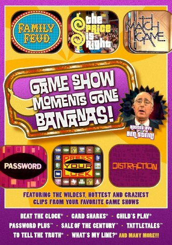 Game Show Moments Gone Bananas Game Show Moments Gone Bananas Nr