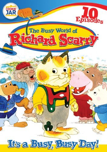 It's A Busy Busy Day Busy World Of Richard Scarry Nr