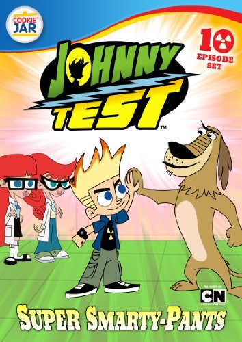 Super Smarty Pants Johnny Test Tvy