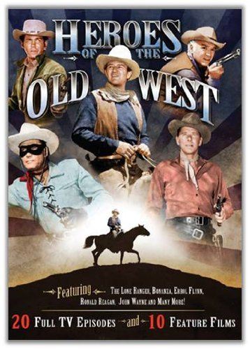 Heroes Of The Old West Heroes Of The Old West Clr Bw Tvg 4 DVD