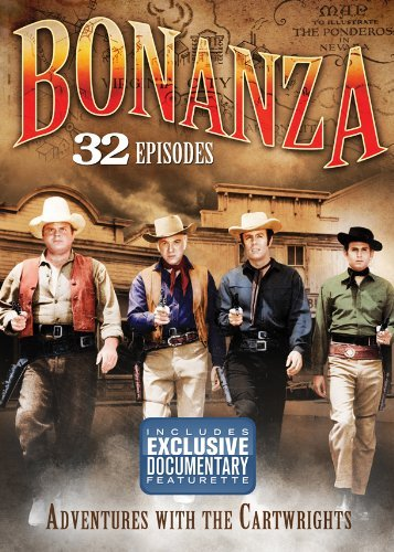 Bonanza Bonanza Adventures With Cartw Clr Bw Tvg 4 DVD
