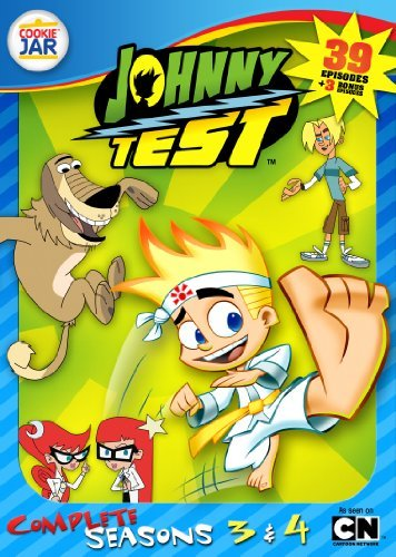 Johnny Test Johnny Test Season 3 4 Tvy7 4 DVD