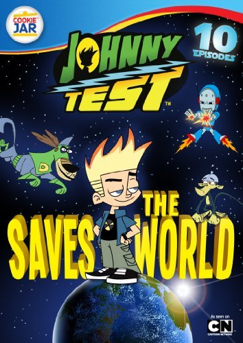 Johnny Test Johnny Saves The World DVD Tvy7