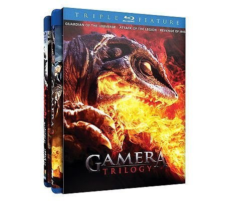 Gamera Triple Feature Gamera Triple Feature Blu Ray Ws Coll. Ed. R 2 Br