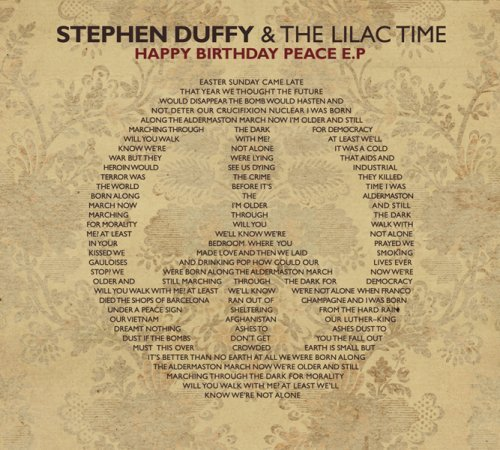 Stephen & Lilac Time Duffy Happy Birthday Peace Ep