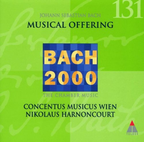 J.S. Bach Musical Offering Bwv 1079 Harnoncourt Concentus Musicus