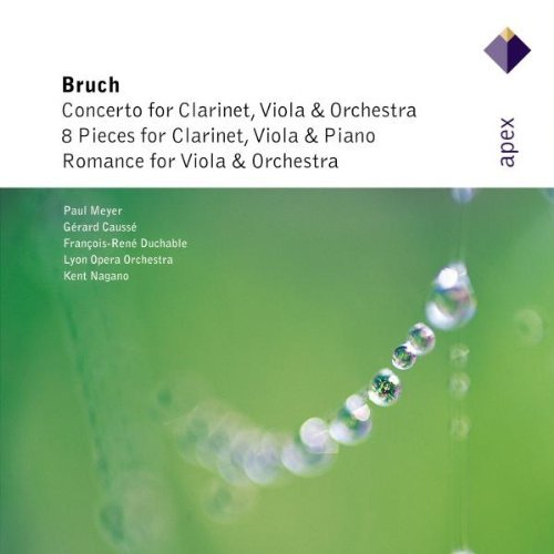 M. Bruch Works For Clarinet & Viola Nagano Lyon Opera Orch