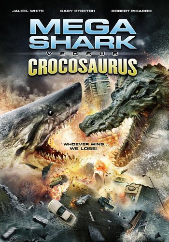 Mega Shark Vs. Crocosaurus White Stretch Lieving Nr
