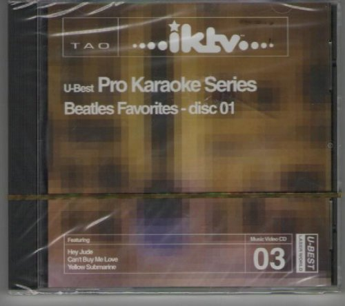 U Best Pro Karaoke Series Beatles Favorites Disc 01