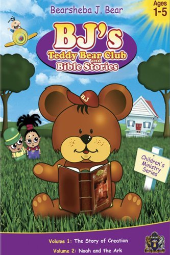 Bj's Teddy Bear Club & Bible S Vol. 1 2 Clr Nr