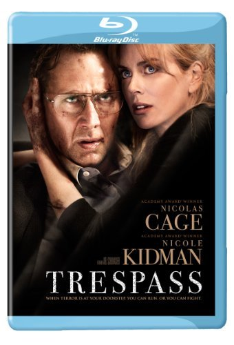 Trespass Cage Kidman Blu Ray Ws R