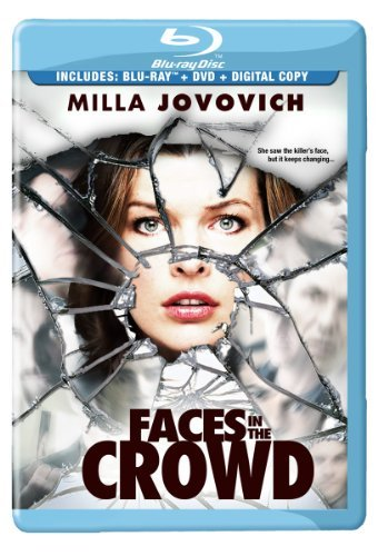 Faces In The Crowd Jovovich Mcmahon Blu Ray Ws R Incl. DVD Dc