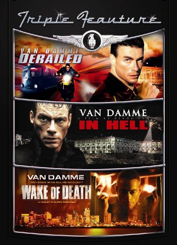 Wake Of Death Derailed In Hell Van Damme Jean Claude R 2 DVD