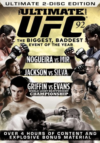 Ufc Ufc 92 The Ultimate 2008 Nr 2 DVD