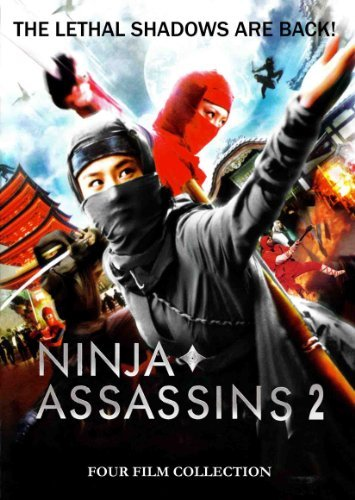 Ninja Assassins 2 4 Film Coll Ninja Assassins 2 4 Film Coll R