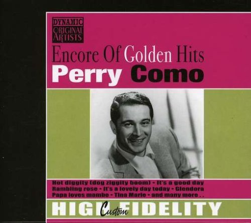 Perry Como Encore Of Golden Hits Import Eu