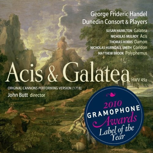 George Frideric Handel Acis & Galatea Sacd Sacd 2 CD