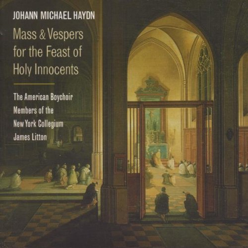 M. Haydn Mass & Vespers For The Feast O Hdcd Litton American Boy Choir