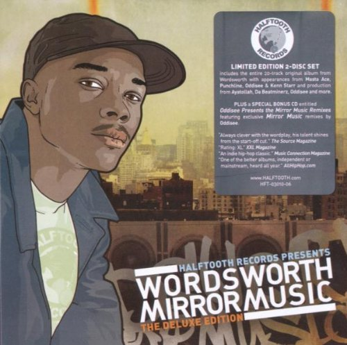 Wordsworth Mirror Music Explicit Version Deluxe Ed. 2 CD Set