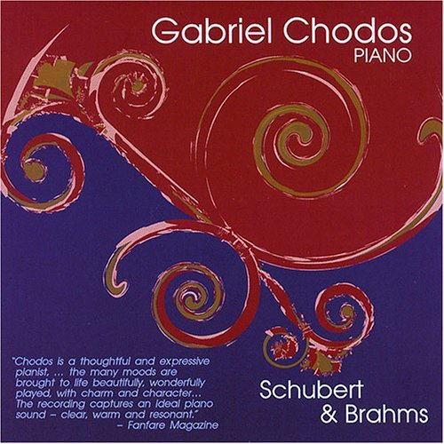 Schubert Brahms Son In G Major Klavierstucke Chodos (pno)