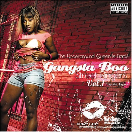 Gangsta Boo Vol. 1 Street Ringers Explicit Version Playa Fly Don P Bun B Baby D