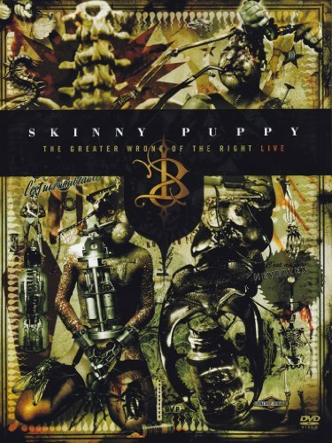 Skinny Puppy Greater Wrong Of The Right Liv 2 DVD