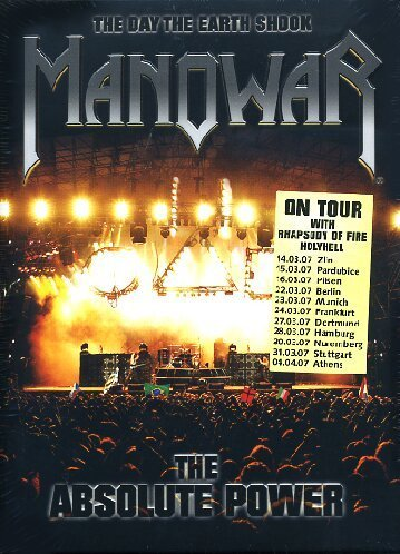 Manowar Day The Earth Shook Absolute P 2 DVD Set