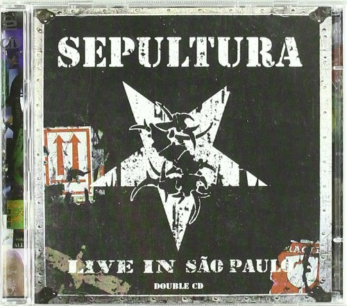 Sepultura Live In Sao Paulo 2 CD Set