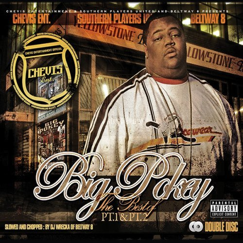 Big Pokey Best Of Part 1 & 2 Chopped & S Explicit Version Screwed Version 2 CD Set