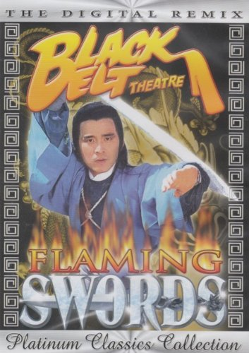 Black Belt Theatre Flaming Swords Clr Nr