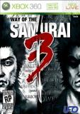 Xbox 360 Way Of The Samurai 3