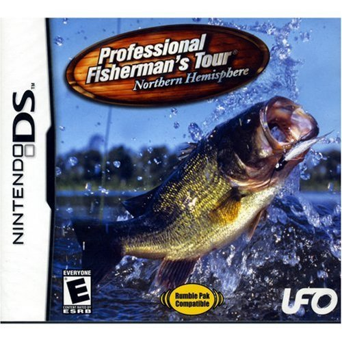 Nintendo Ds Pro Fishermans Tour W Rumble
