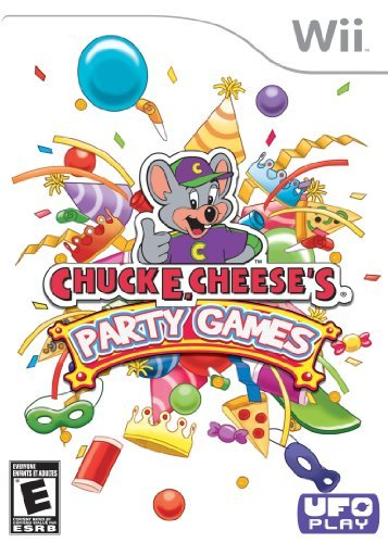 Wii Chuck E Cheese's Party Games