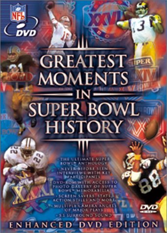Nfl Greatest Moments In Super Bowl Clr Nr Nfl DVD