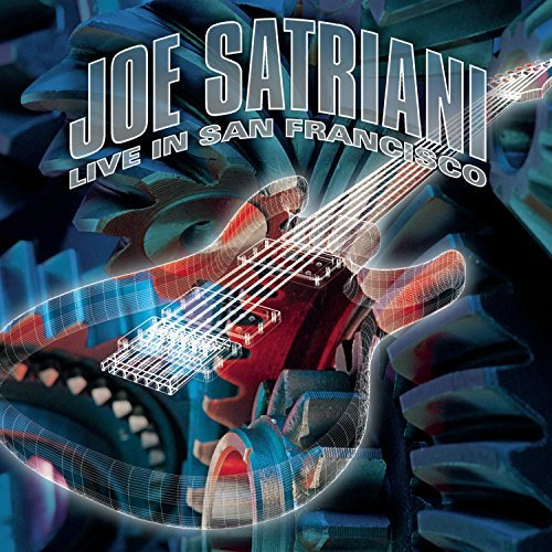 Joe Satriani Live In San Francisco 2 CD Set