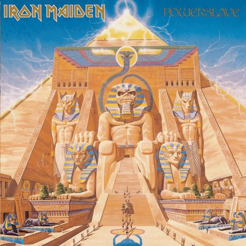 Iron Maiden Powerslave Incl. Booklet