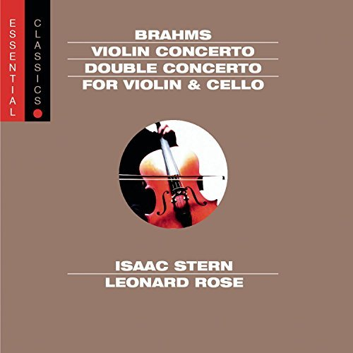 Johannes Brahms Violin Concerto & Double Conce Stern (vn) Rose (vc) Ormandy Philadelphia Orch