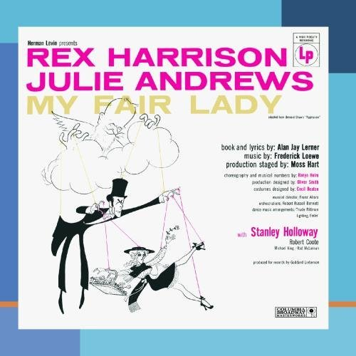 Broadway Cast My Fair Lady CD R Feat. Harrison Andrews
