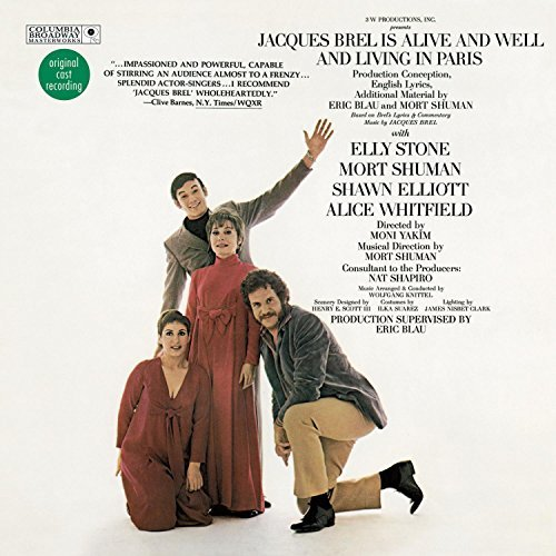 Cast Recording Jacques Brel Is Alive & Well & Remastered