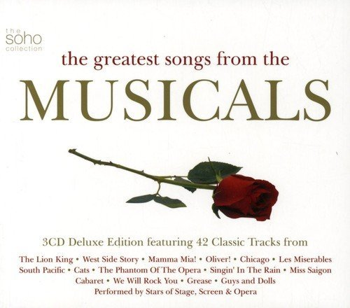 Greatest Songs From The Musica Greatest Songs From The Musica Import Gbr 3 CD Set