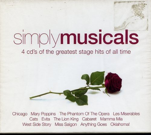 Simply Musicals Simply Musicals Import Gbr 4 CD